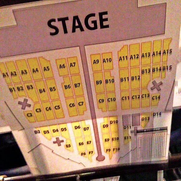 エグザイル 2015 京セラ 座席表