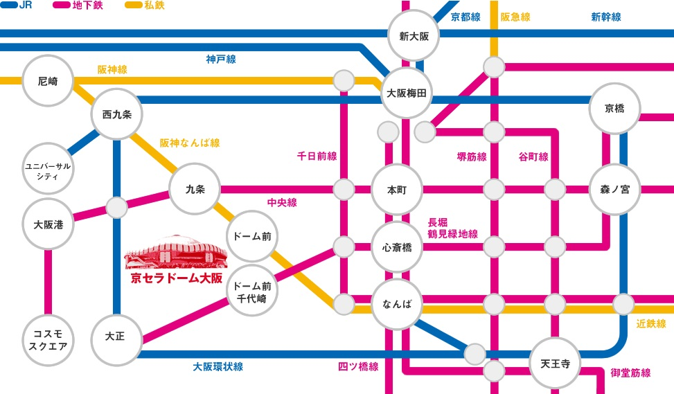 京セラ 路線図