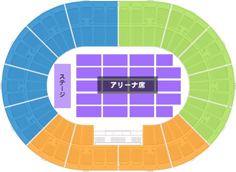 大阪城ホール ステージパターンB