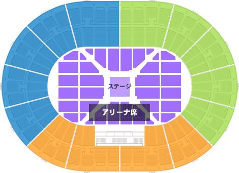 大阪城ホール ステージパターンC