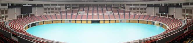 日本ガイシホール Aブロック4階席からの観覧イメージ