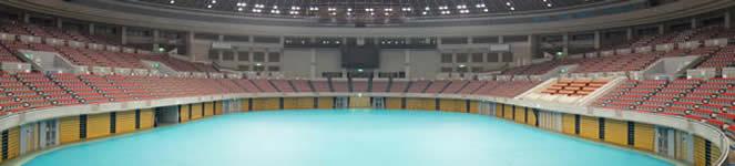 日本ガイシホール Eブロック2階席からの観覧イメージ