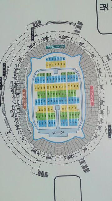 ドリカム 2011 座席表