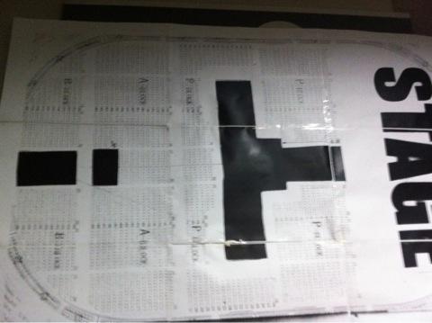 広島グリーンアリーナ 座席表 東方神起 2012
