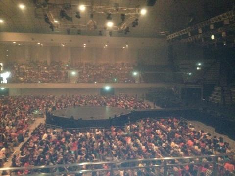 福岡国際センター スタンド2