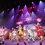 日本ガイシホール座席表で見た!HKT48禁断のアリーナスタンド技