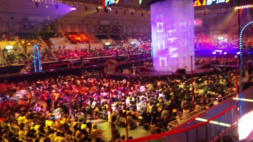 神戸ワールド記念ホール スタンド