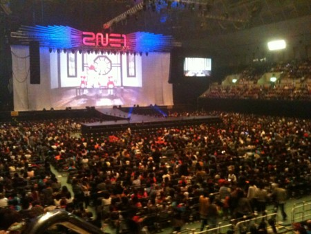 神戸ワールド記念ホール スタンド3