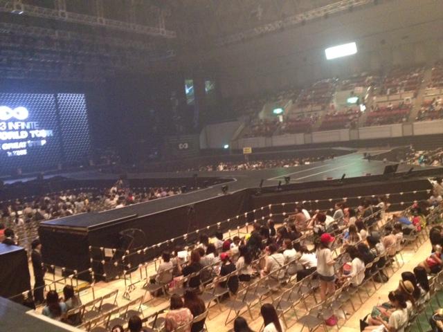 神戸ワールド記念ホール スタンド4