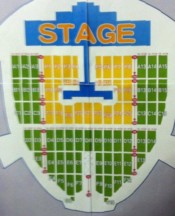 ナゴヤドーム 座席表 東方神起 2012