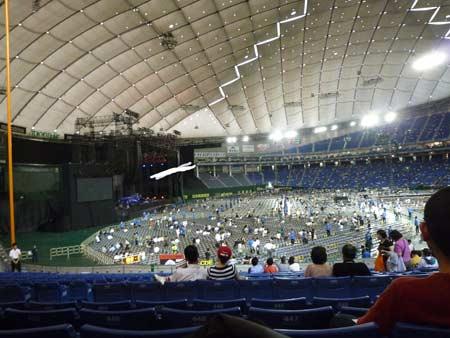 東京ドーム 1階3塁側