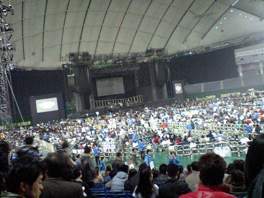 東京ドーム 1階3塁側の真ん中